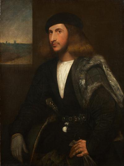 Portrait of a Venetian Nobleman-Giovanni de Busi Cariani-Giclee Print