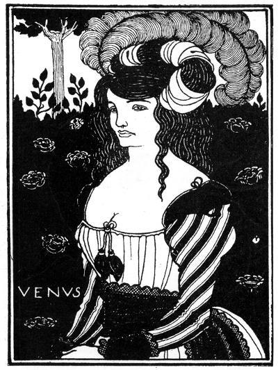 Portrait of a Woman, 1898-Aubrey Beardsley-Giclee Print