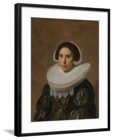 Portrait of a Woman, c. 1635-Frans Hals-Framed Giclee Print
