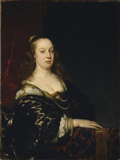 Portrait of a Woman, c.1647-Jacob Adriensz Backer-Giclee Print