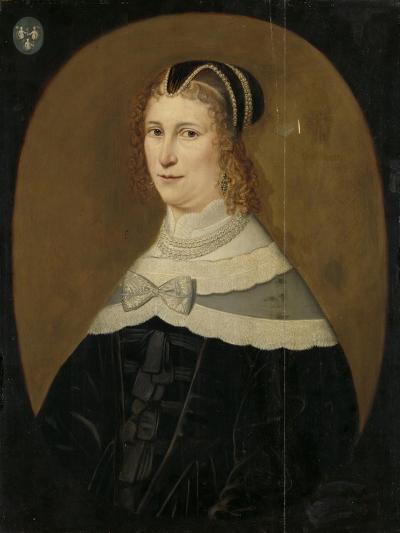 Portrait of a Woman, Called Theodora De Visscher--Art Print