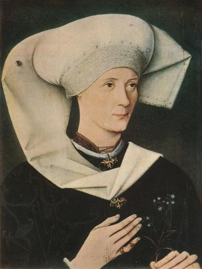 'Portrait of a Woman of the Hofer Family', 1470, (1909)-Unknown-Giclee Print