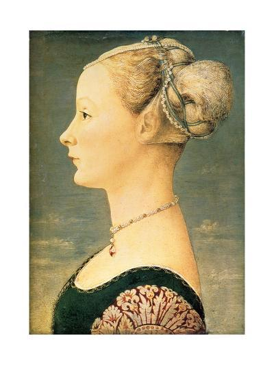 Portrait of a Woman, Second Half of the 15th C-Piero del Pollaiuolo-Giclee Print