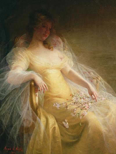 Portrait of a Woman-Arpad Migl-Giclee Print