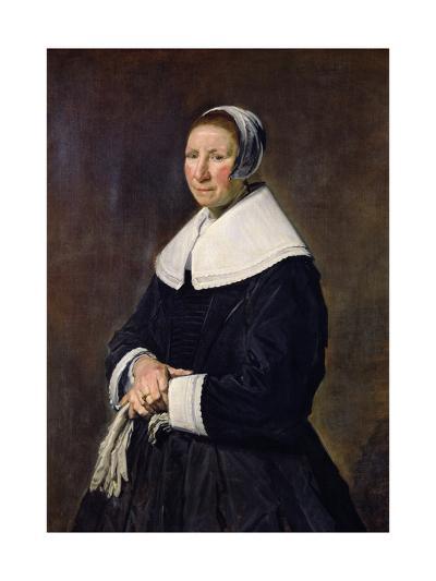 Portrait of a Woman-Frans Hals-Giclee Print