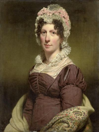Portrait of a Woman-Charles Howard Hodges-Art Print