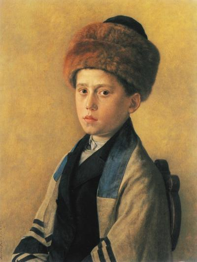 Portrait of a Young Boy-Isidor Kaufmann-Art Print