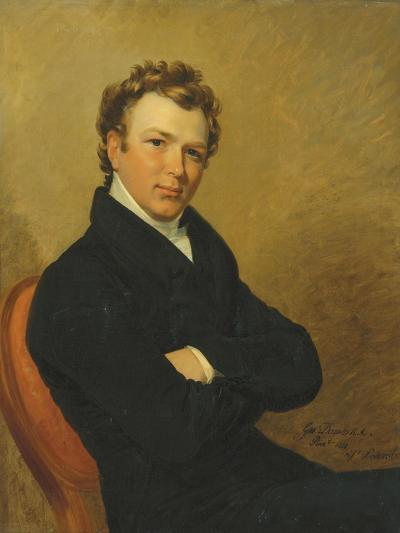 Portrait of a Young Gentleman, 1819-George Dawe-Giclee Print