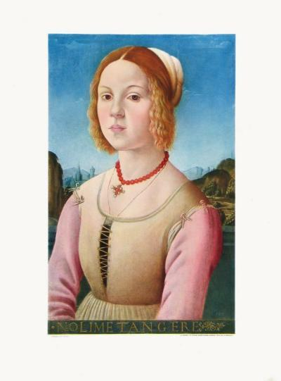 Portrait of a Young Girl, Noli Me Tangere-Lorenzo Credi-Collectable Print