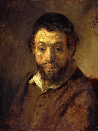 Portrait of a Young Jew-Rembrandt van Rijn-Giclee Print