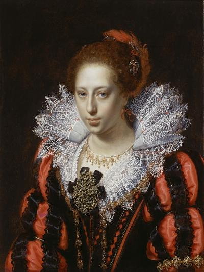 Portrait of a Young Lady, C.1620-Paulus Moreelse-Giclee Print