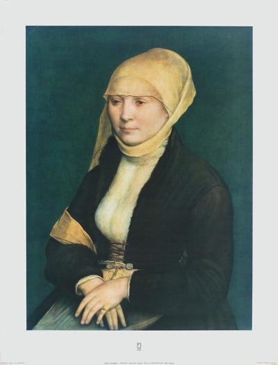 Portrait of a Young Lady-Hans Holbein the Younger-Collectable Print