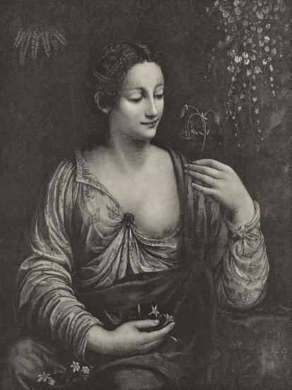 Portrait of a Young Lady--Giclee Print