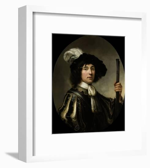 Portrait of a Young Man, 1640-60-Aelbert Cuyp-Framed Giclee Print