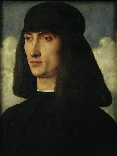Portrait of a Young Man, circa 1500-Giovanni Bellini-Giclee Print