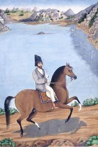 Portrait of a Young Man on Horseback, C.1840