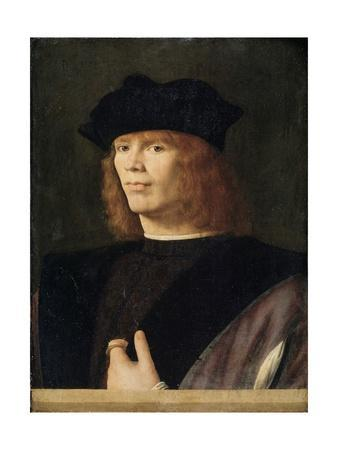 Portrait of a Young Man, Probably Merchant by Andrea Solario--Giclee Print