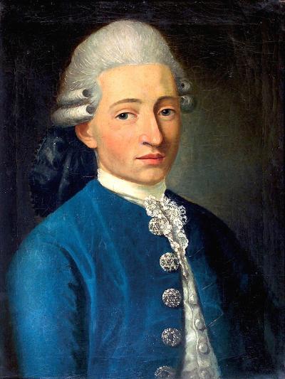 Portrait of a Young Man (Wolfgang Amadeus Mozar), 1772-J. B. Delahaye-Giclee Print