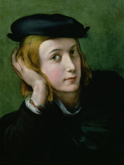 Portrait of a Young Man-Parmigianino-Giclee Print