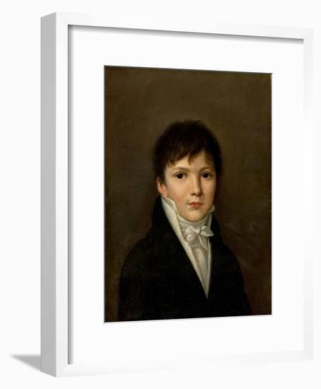 Portrait of a Young Man-Louis Leopold Boilly-Framed Giclee Print