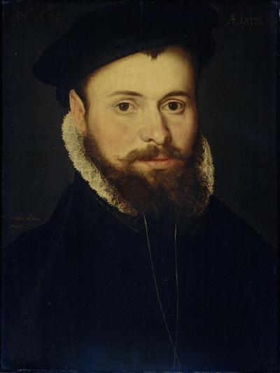 Portrait of a Young Man- Cornelis de Zeeuw & Pieter Pourbus-Art Print