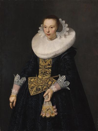 Portrait of a Young Woman, 1632-Nicolaes Eliasz-Giclee Print
