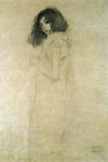 Portrait of a Young Woman, 1896-97-Gustav Klimt-Giclee Print