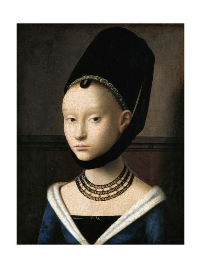 Portrait of a Young Woman by Petrus Christus--Giclee Print