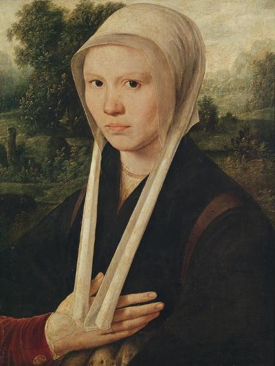 Portrait of a Young Woman, C.1530-Dirk Jacobsz-Giclee Print