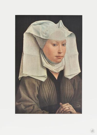 Portrait of a Young Woman-Rogier Weyden-Collectable Print