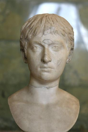 Portrait of a Youth, First Half of 2nd Century--Photographic Print