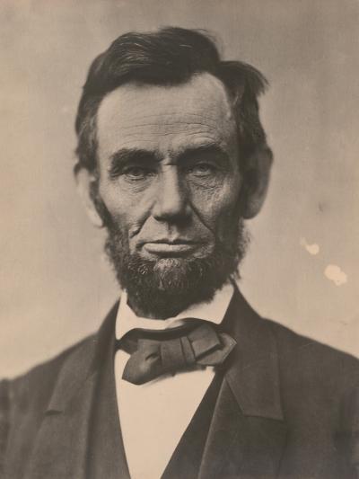 Portrait of Abraham Lincoln, November 1863, Printed c.1910-Alexander Gardner-Photographic Print