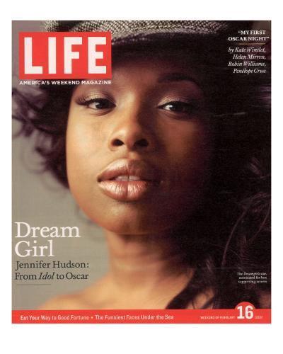 Portrait of Academy Award Nominee Jennifer Hudson, February 16, 2007-Peggy Sirota-Photographic Print