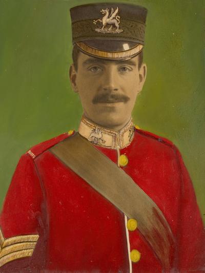 Portrait of Acting Corporal William Reginald Cotter VC--Giclee Print