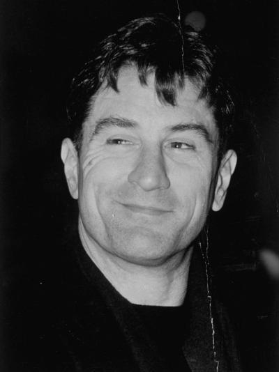 Portrait of Actor Robert Deniro--Premium Photographic Print