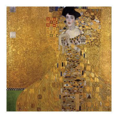 Portrait of Adele Bloch-Bauer I, 1907-Gustav Klimt-Art Print