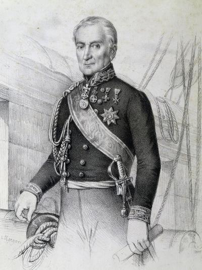 Portrait of Admiral Albini, Italy--Giclee Print