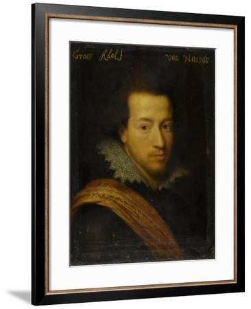 Portrait of Adolf, Count of Nassau-Siegen-Jan Antonisz van Ravesteyn-Framed Art Print