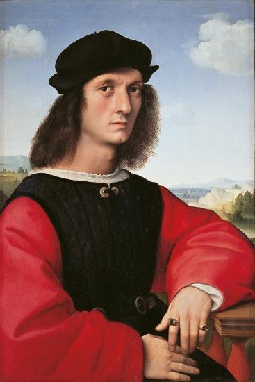 Portrait of Agnolo Doni-Raffaello Sanzio-Giclee Print