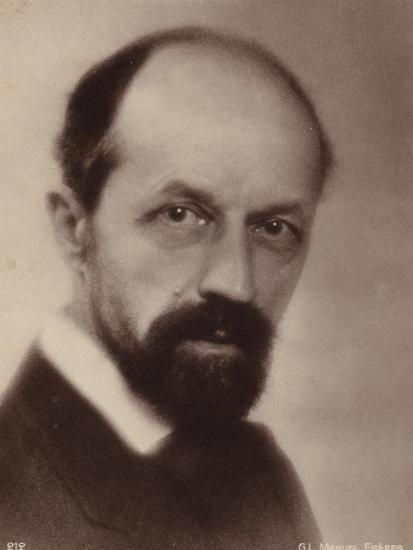 Portrait of Albert Roussel--Photographic Print