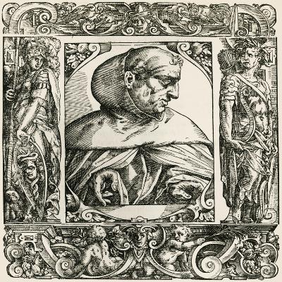 Portrait of Albert Von Bollstadt--Giclee Print
