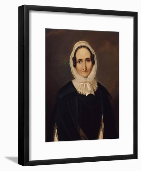 Portrait of Albertine Von Motz, after 1827-Franz Kruger-Framed Giclee Print