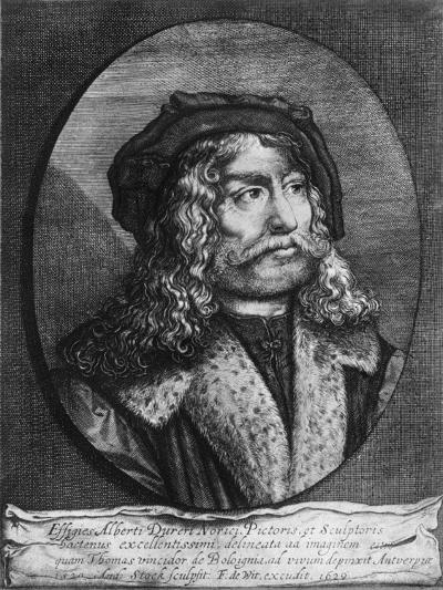 Portrait of Albrecht Durer, 1629-Andreas Stock-Giclee Print