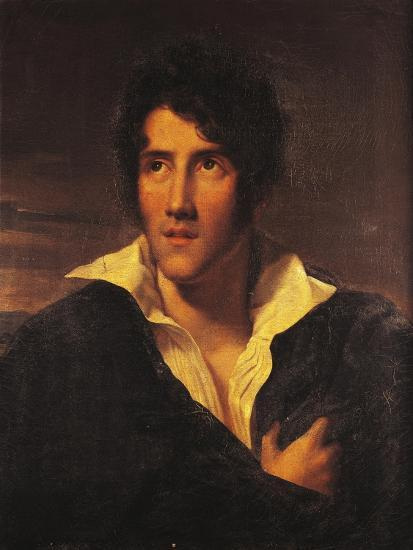 Portrait of Alessandro Manzoni--Giclee Print