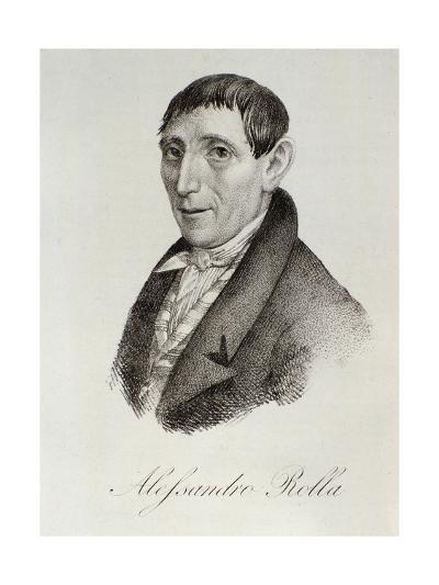 Portrait of Alessandro Rolla--Giclee Print