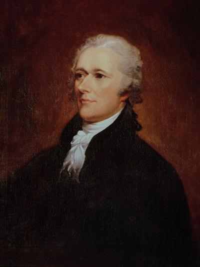 Portrait of Alexander Hamilton (1757-1804)-John Trumbull-Giclee Print