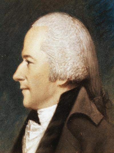 Portrait of Alexander Hamilton--Giclee Print