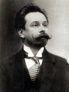 Portrait of Alexander Scriabin (1872-1915)