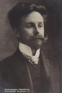 Portrait of Alexander Skrjabin