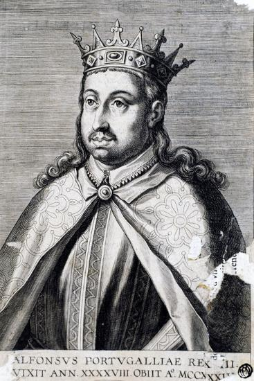 Portrait of Alfonso II, known as Fat--Giclee Print